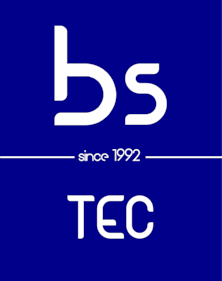 BS TEC logo footer