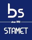 BS STAMET | wózki i rolki do bram | koła pasowe i linowe | wałki Logo