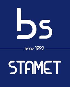 BS STAMET logo footer